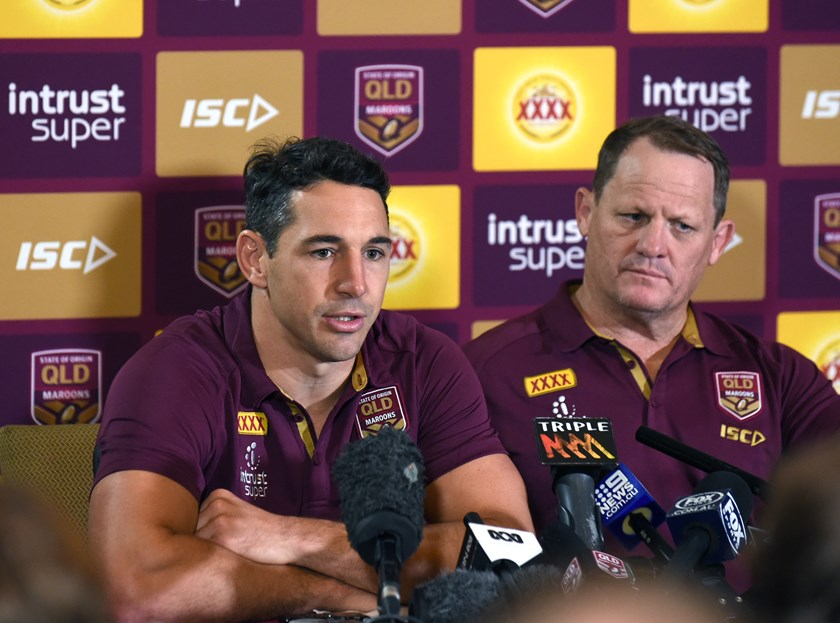 Billy Slater and Kevin Walters.
