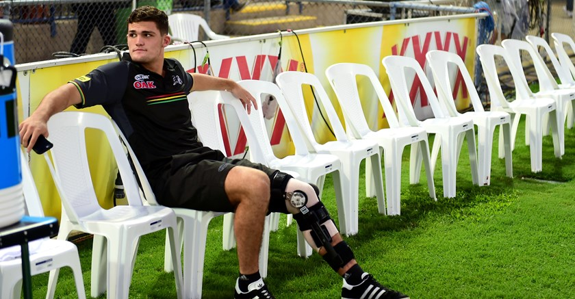 Panthers halfback Nathan Cleary missed several weeks early in the season with a knee injury.