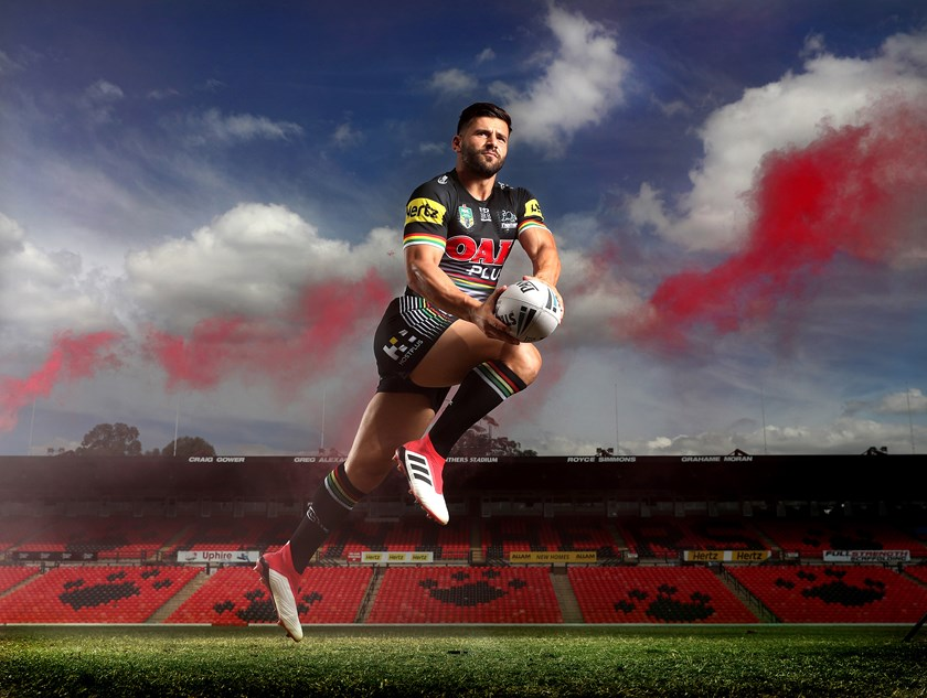 Panthers winger Josh Mansour.