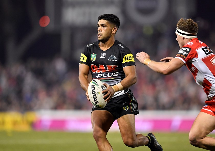 Panthers livewire Tyrone Peachey.