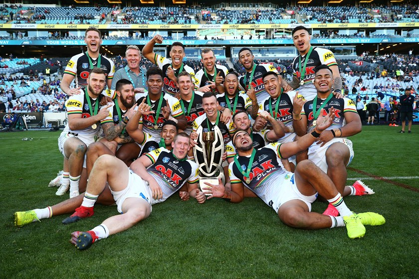 The Panthers won the NSW Cup title in 2017 and then capped a huge year by beating PNG Hunters in the State Championship final.