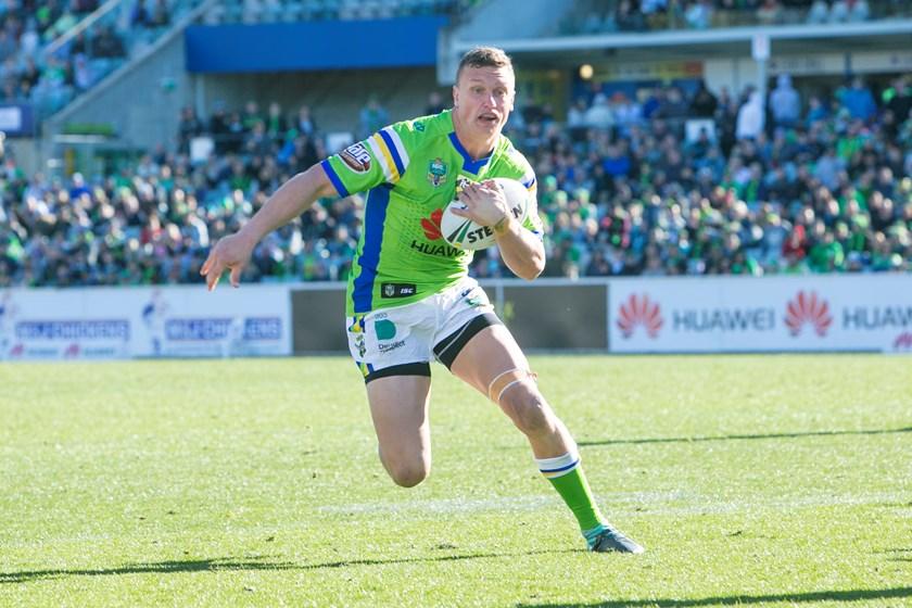 Canberra fullback Jack Wighton.