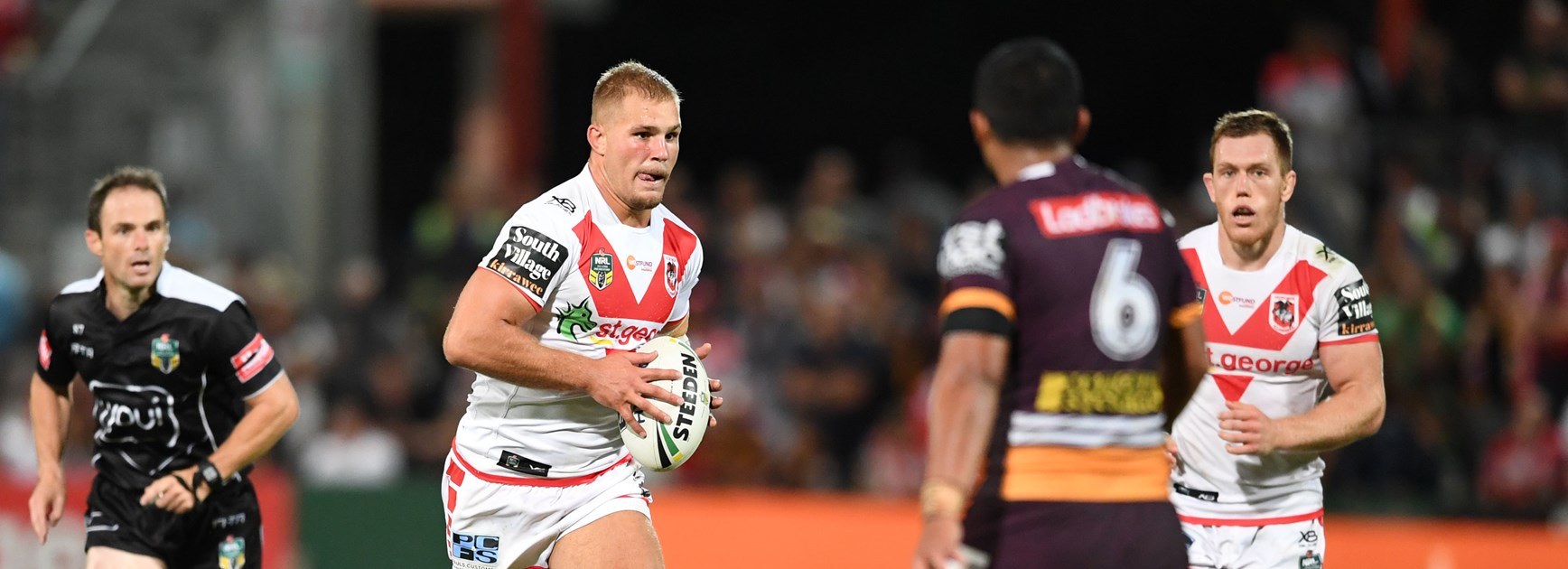 Dragons back-rower Jack de Belin.