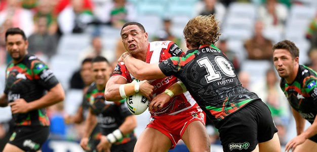 Frizell puts his best foot forward