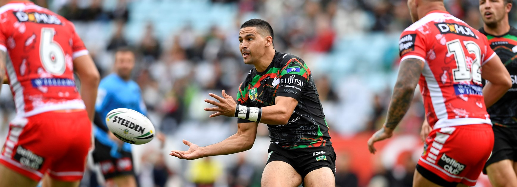 Rabbitohs five-eighth Cody Walker.