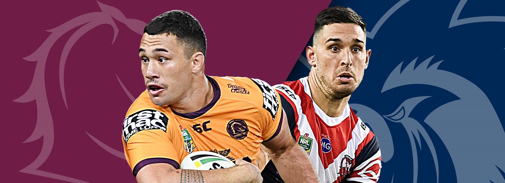 Broncos v Roosters: Triple injury blow for Brisbane; Radley returns