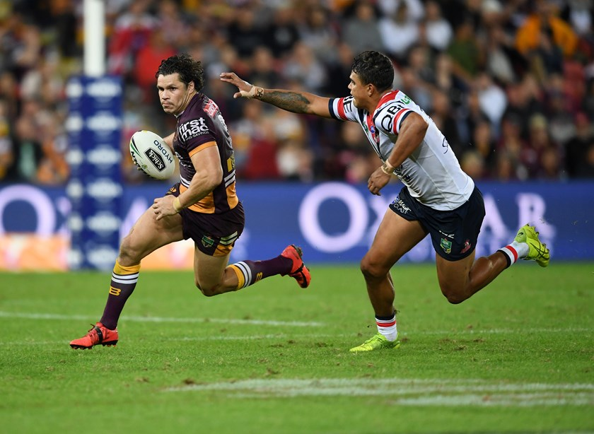 James Roberts and Latrell Mitchell.