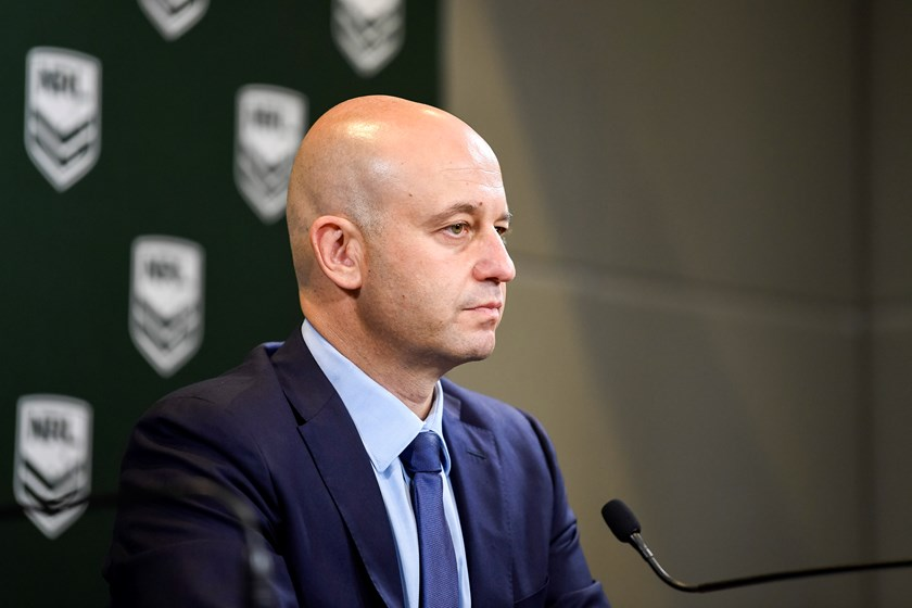 NRL CEO Todd Greenberg.