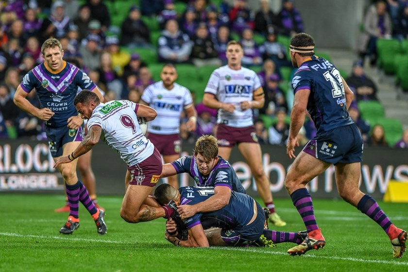 Sea Eagles hooker Api Koroisau.