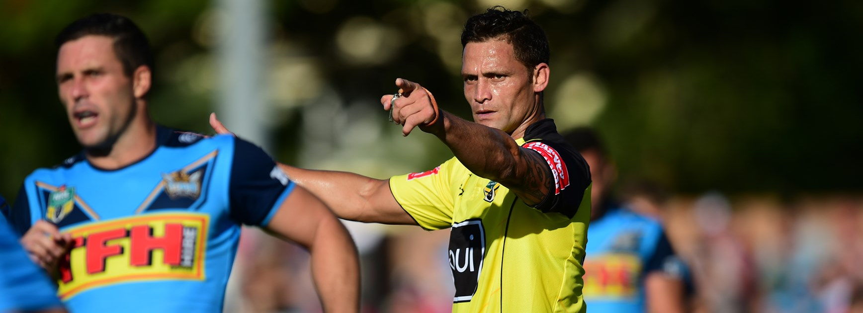 NRL referee Henry Perenara.