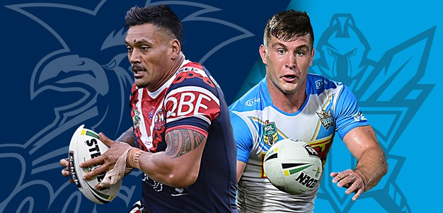 Roosters v Titans