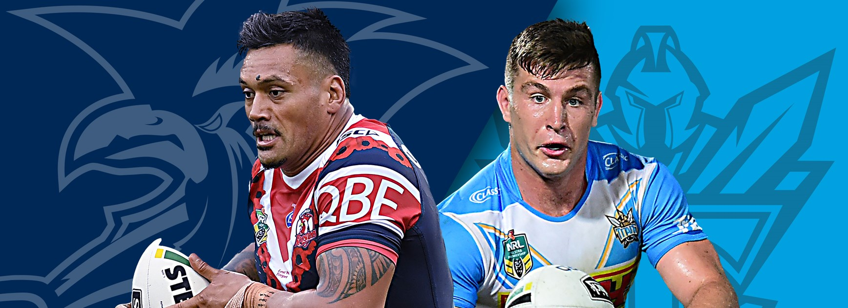 Roosters v Titans: Late changes for both sides