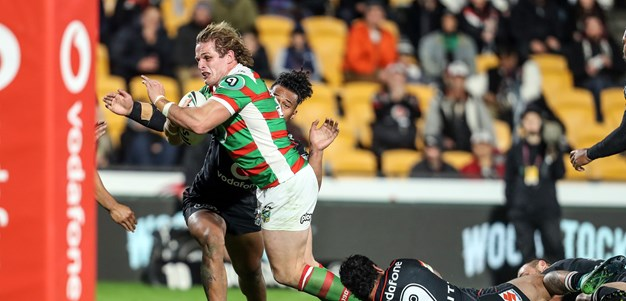 Tough night out against Rabbitohs