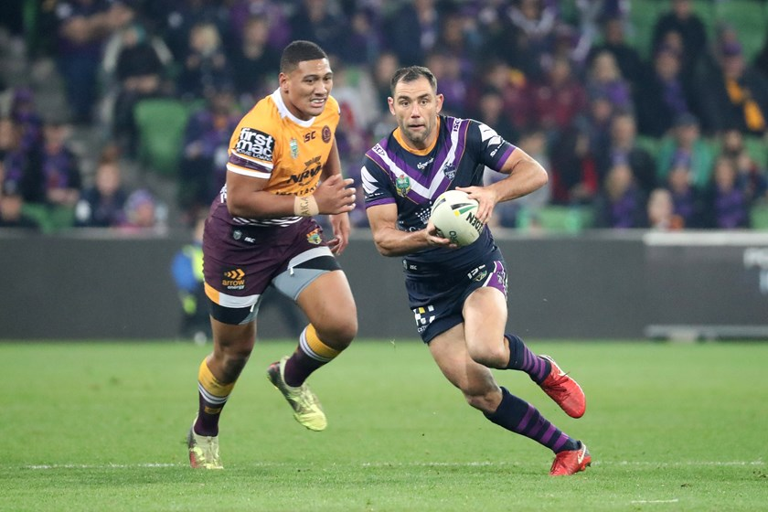 Storm skipper Cameron Smith.