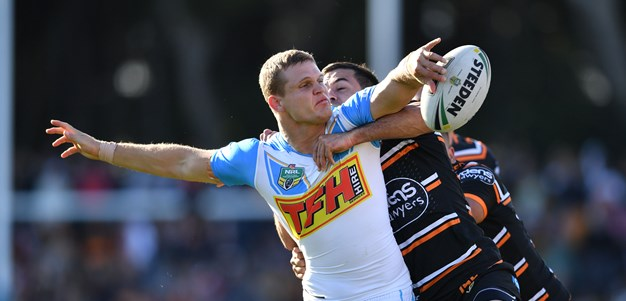 Titans spoil the party for Farah, Mbye and the Wests Tigers