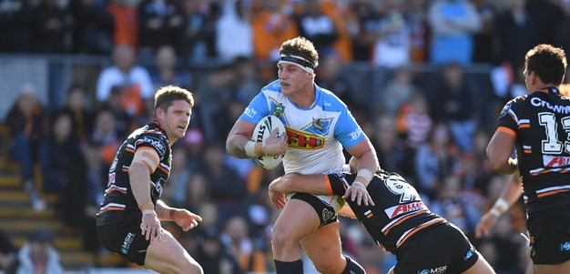 Titans lift as halves find groove and authority: Wallace