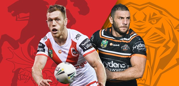 Dragons v Wests Tigers: Round 18 preview