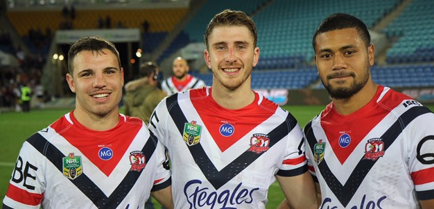 Dream NRL Debut For History-Making Roosters Trio