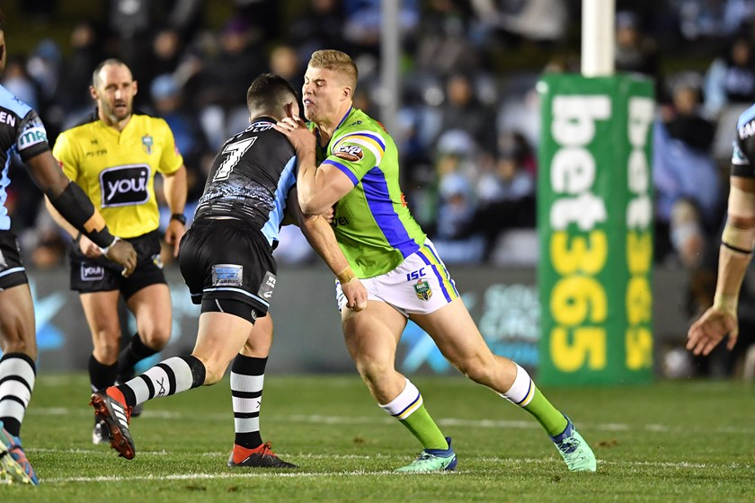 Raiders back-rower Jack Murchie.