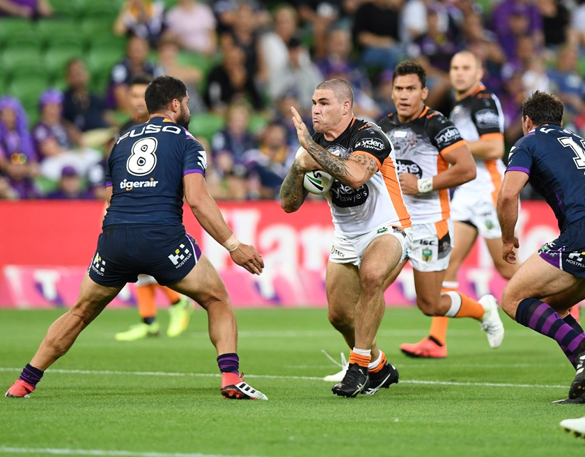 Tigers prop Russell Packer.