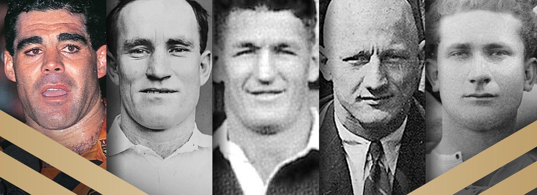 Messenger, Brown, Burge, Provan, Meninga announced as Immortals