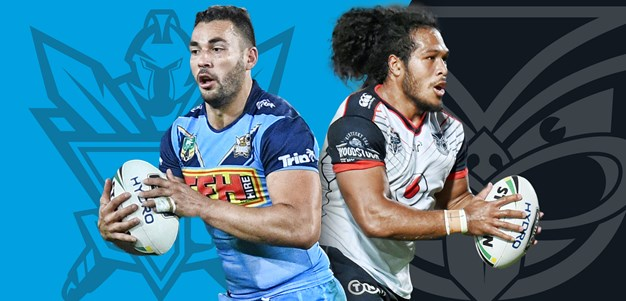 Pulu and Lawton confirmed on bench
