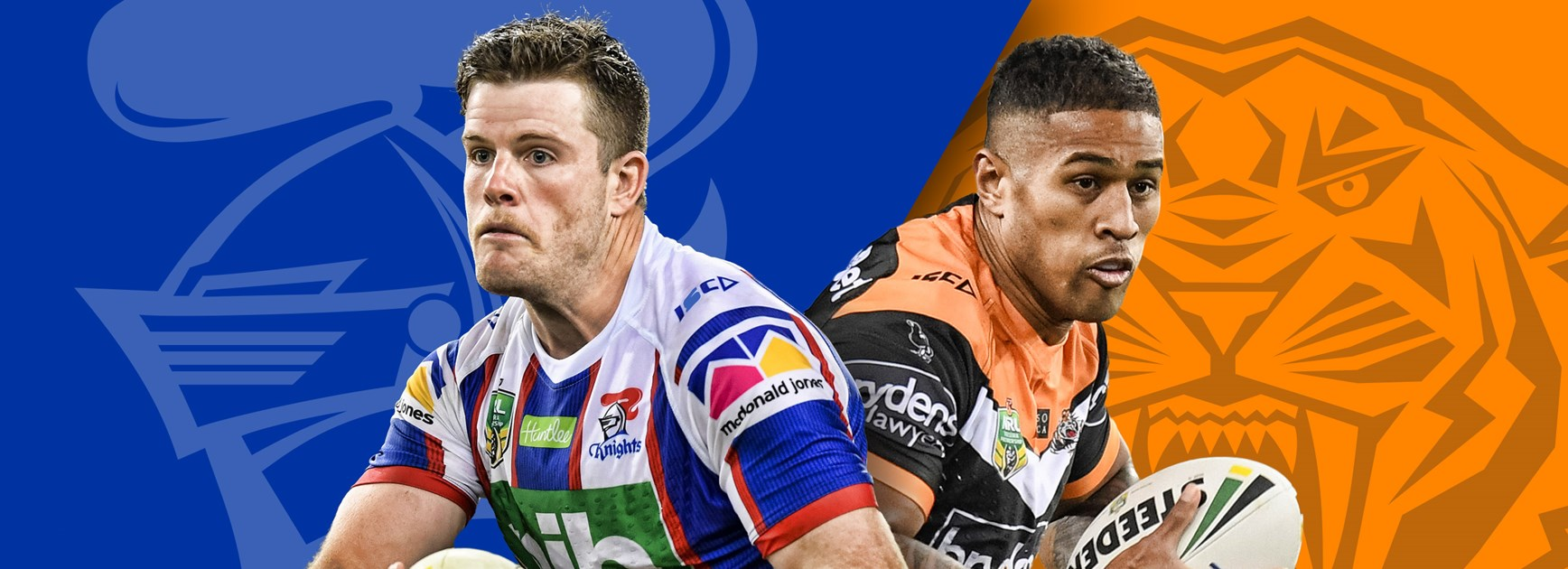 Knights v Wests Tigers: Late changes for both teams