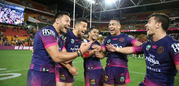 Oates stars as Broncos shore up finals hopes with win over Rabbitohs