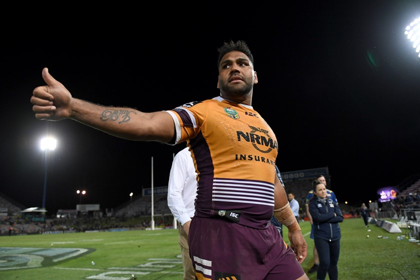 Brisbane forward Sam Thaiday.