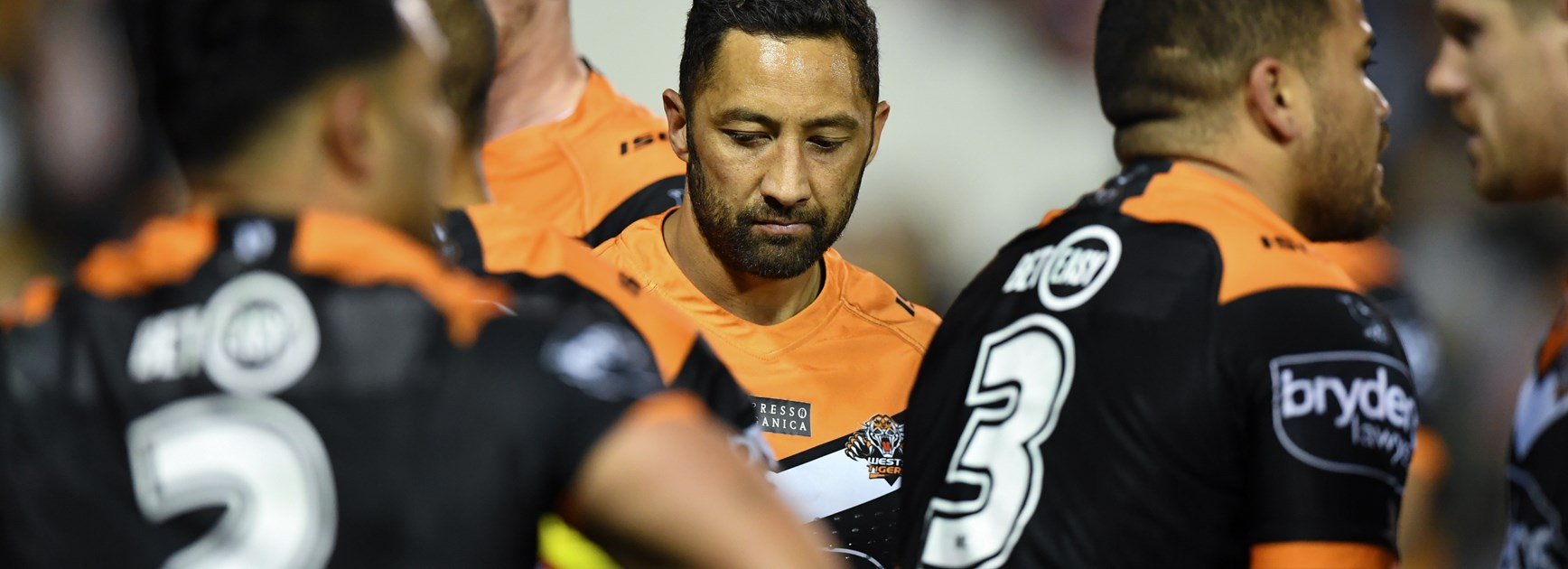 Wests Tigers five-eighth Benji Marshall.