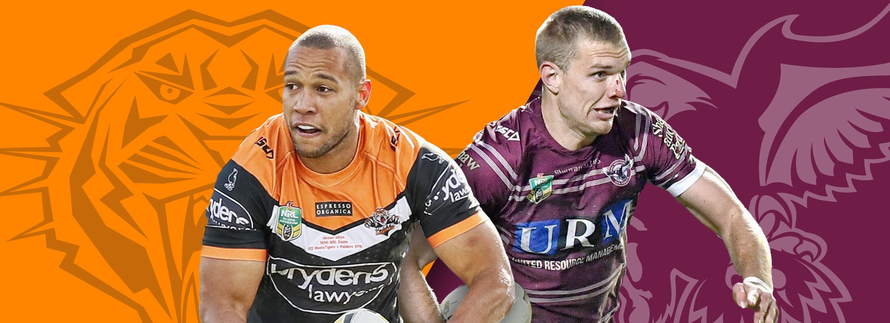 Wests Tigers v Sea Eagles: Taupau to bench; Gosiewski to start