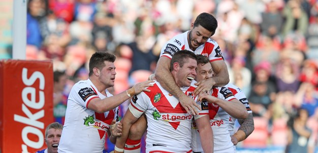 Dragons finish strongly to hold off Knights