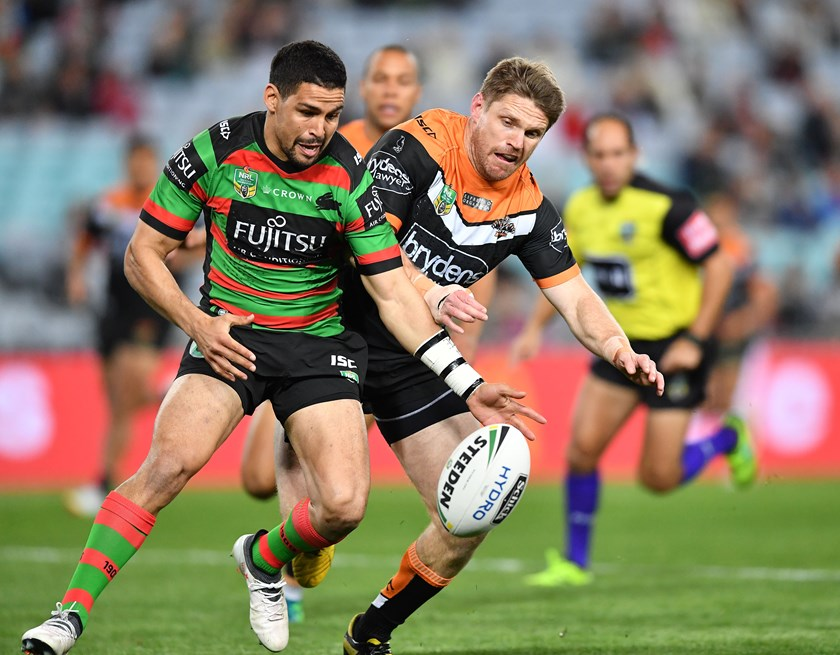 Tigers back-rower Chris Lawrence.