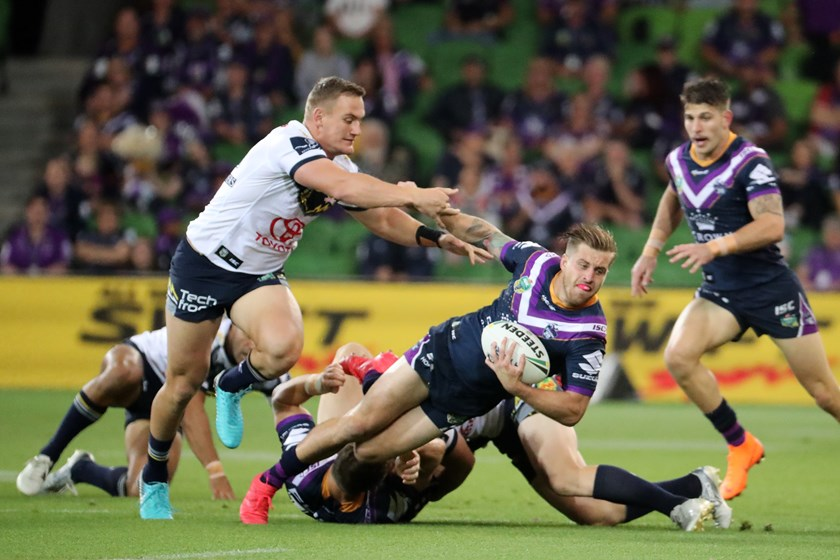 Melbourne Storm five-eighth Cameron Munster.