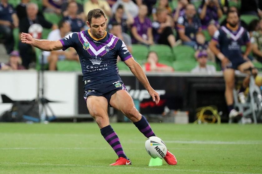 Melbourne Storm captain Cameron Smith.