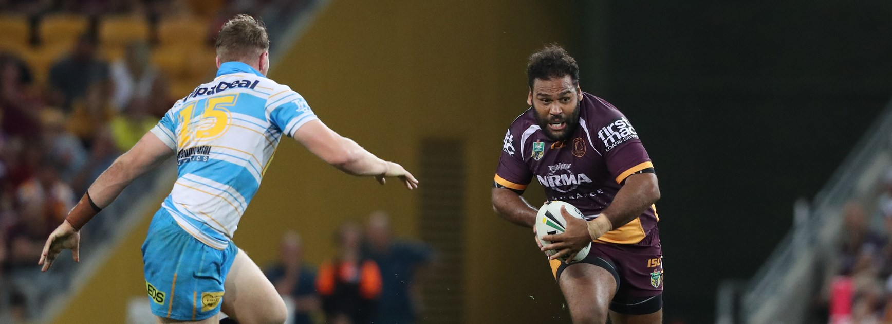 Broncos forward Sam Thaiday.