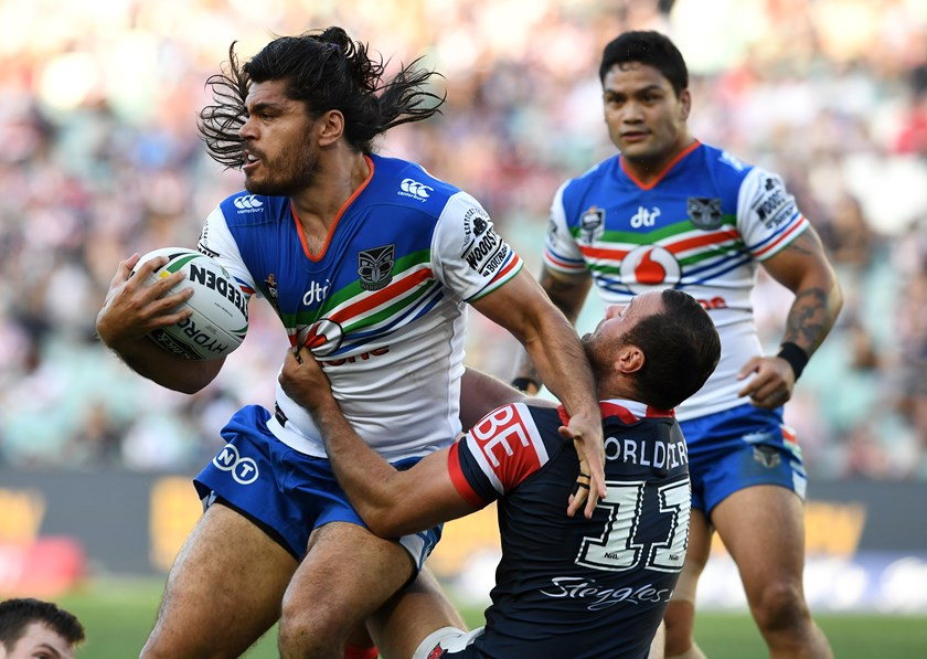 Warriors second-rower Tohu Harris.