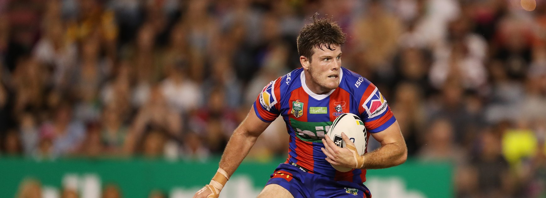 Knights back-rower Lachlan Fitzgibbon.