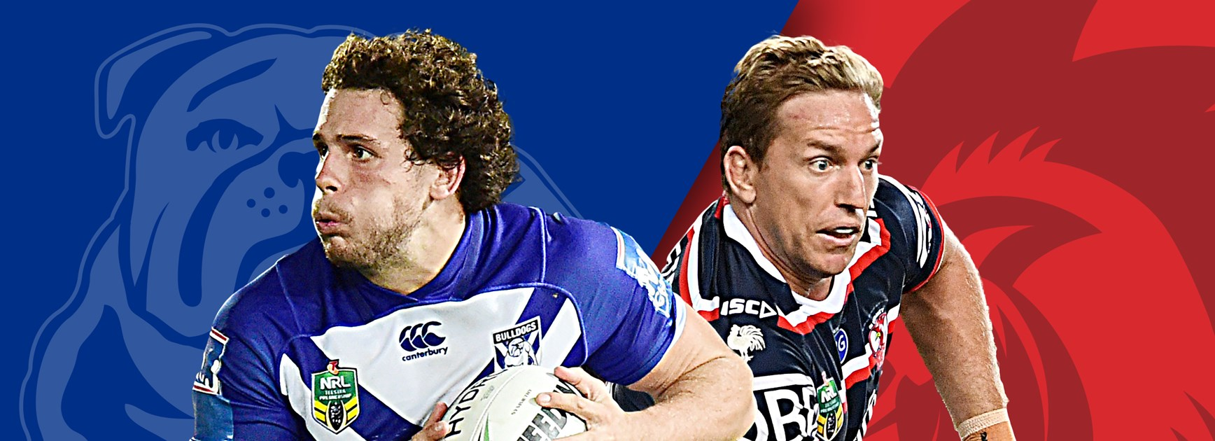 Bulldogs v Roosters: Robinson dropped as Dogs find form