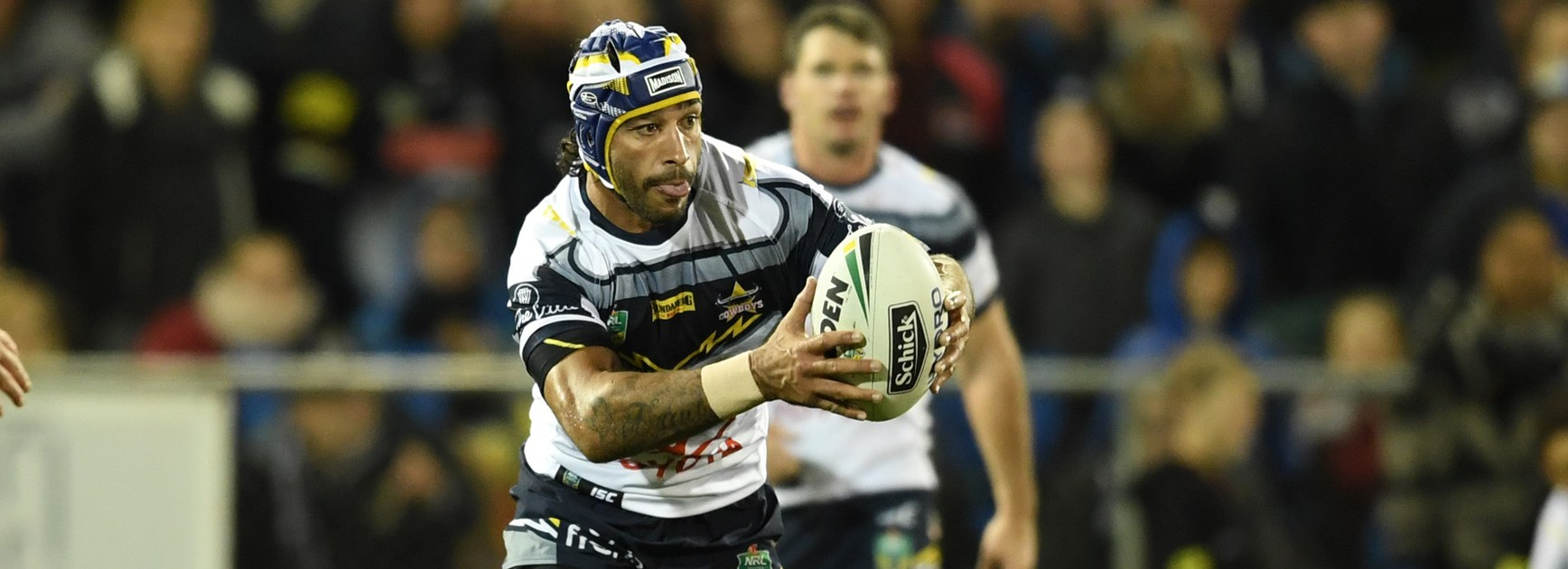 Cowboys captain Johnathan Thurston.