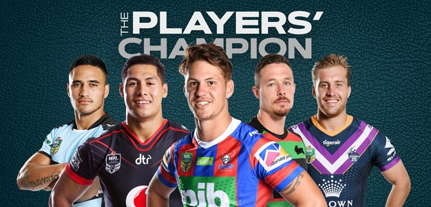 Players' Champion: The five finalists for RLPA's top honour