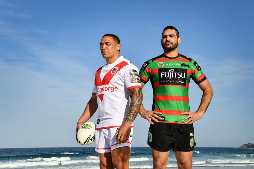 Tyson Frizell will come face to face with Greg Inglis on Saturday night.