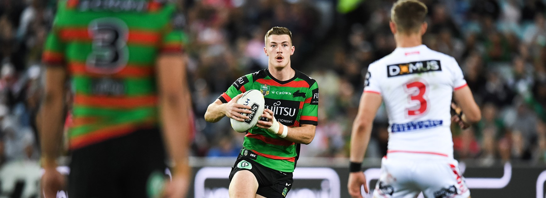 Rabbitohs winger Campbell Graham.