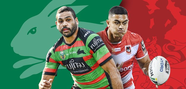 Rabbitohs v Dragons: Old rivals will draw huge crowd