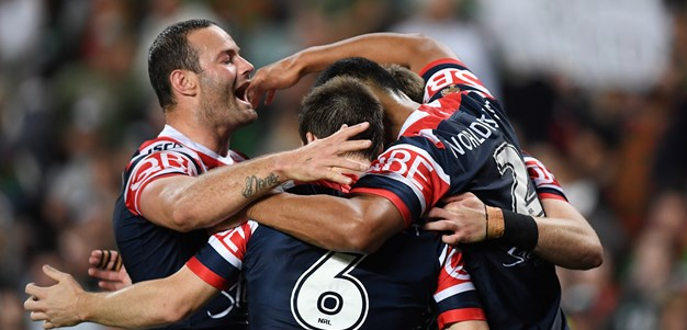 Cronk injured as Roosters beat Souths to earn grand final berth