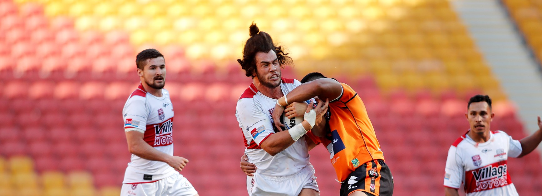 Sharks recruit Rudolf red-hot as Dolphins sink Tigers