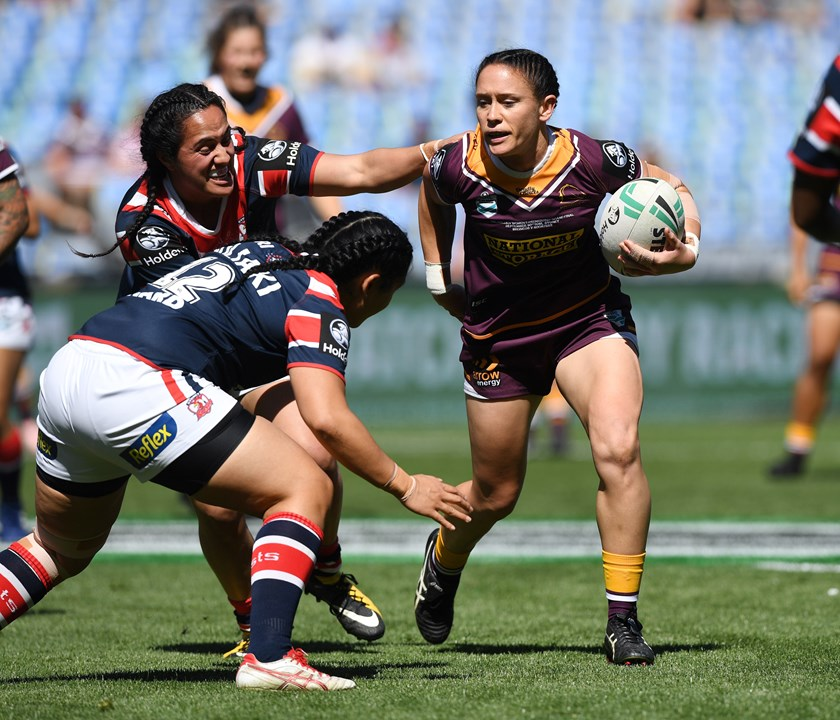 Broncos hooker Brittany Breayley.