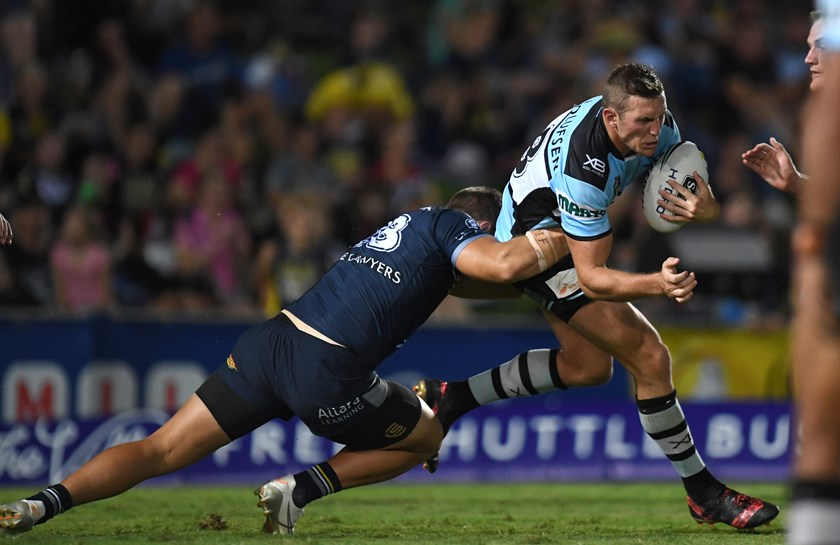 Sharks back-rower Kurt Capewell.