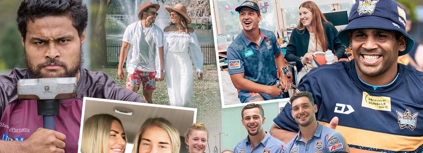 NRL Social: Christmas spirit, bae love and epic pics