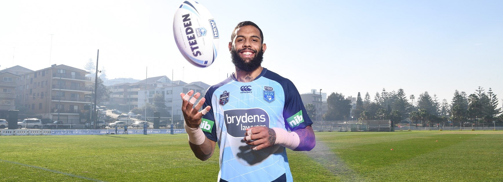 NSW Blues winger Josh Addo-Carr